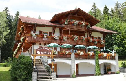 Garnihotel - Arberblick