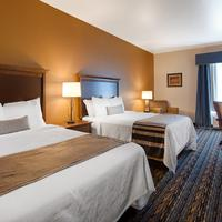 Best Western PLUS Casper Inn & Suites Two Queen Bed Guest Room