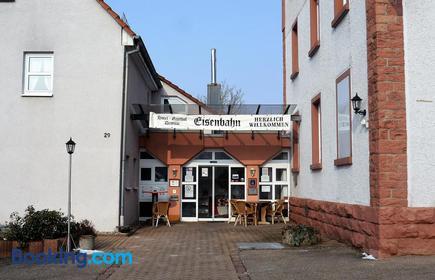 Hotel-Gasthof-Destille-Eisenbahn