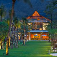 Manathai Khao Lak Hotel Front - Evening/Night