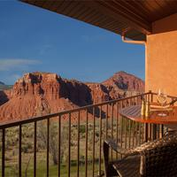 Capitol Reef Resort Balcony