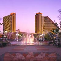Nugget Casino Resort Hotel Front - Evening/Night