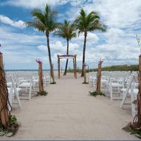B Ocean Resort Outdoor Wedding Area