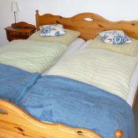 Gästehaus am Berg A double bedroom
