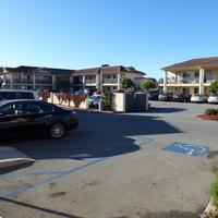 Howard Johnson Marina at Monterey Bay Parking area