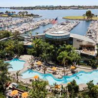 San Diego Marriott Marquis & Marina Aerial View