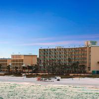 Days Inn Panama City Beach/Ocean Front Exterior Pier View