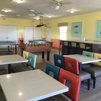Island Hotel Port Aransas Breakfast Area