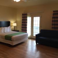 Island Hotel Port Aransas Living Area