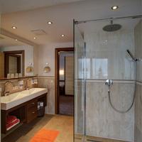 Ferienhotel Aussicht Badezimmer