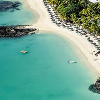 Royal Palm Beachcomber Mauritius Aerial View