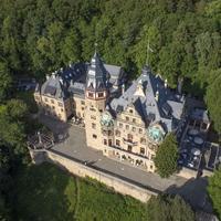 Schloss Hotel Wolfsbrunnen Aerial View