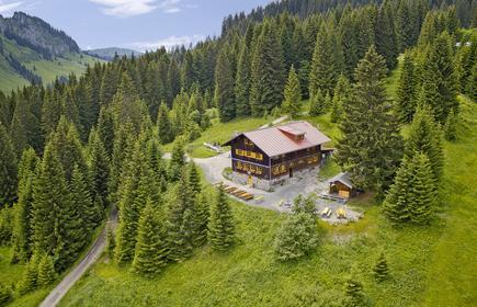 Die Wannenkopfhütte