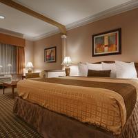 Best Western Plus Suites Hotel King Bed Guest Room