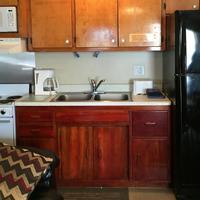 Sand Dollar Motel In-Room Kitchen