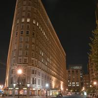 Boston Park Plaza Hotel Front - Evening/Night