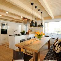 Luxuslodge 'Zeit Zum Leben' Wohnküche