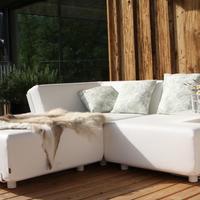 Luxuslodge 'Zeit Zum Leben' Terrasse