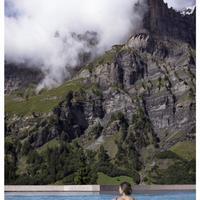 Thermalhotels Leukerbad Outdoor Pool