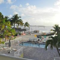 Bayside Inn Key Largo Pool and Florida Bay view