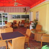 Bayside Inn Key Largo Our office patio area