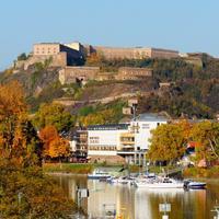 Diehl's Hotel Herbstaufnahme