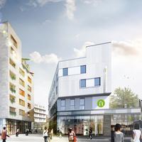 Campanile Annemasse Centre - Gare Hotel Front