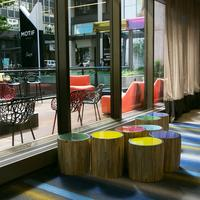 Motif Seattle Hotel Lobby and Porch