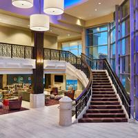 Four Points by Sheraton Little Rock Midtown Lobby Staircase