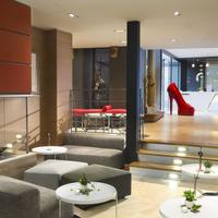 Hôtel Le Colombier Lobby Sitting Area