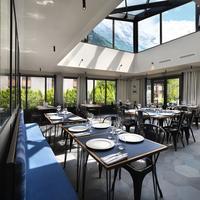 Chalet Hôtel Le Prieuré Dining