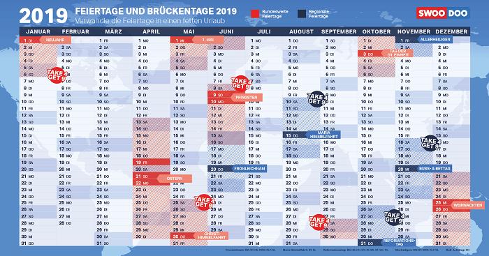 feiertage-2019-brueckentage-2019-kalender-urlaubsplanung