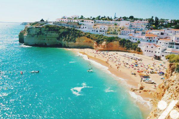 faro in portugal surfen und badeurlaub