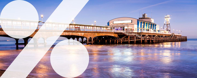 Bournemouth in England – von Fish and Chips bis Nachtleben
