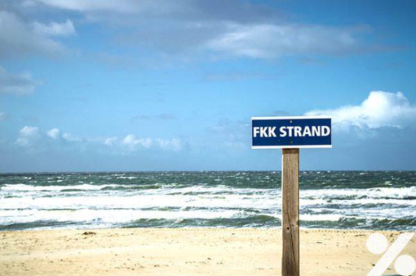 Strand fkk familien am Deutsche FKK
